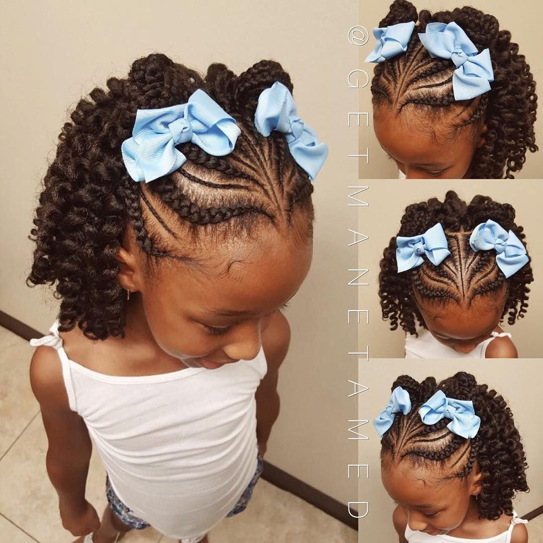 81 Likes 14 Comments Manetamed Studio Getmanetamed On Instagram Crochet Protective Style Hair Is Braids For Kids Natural Hair Styles Kids Hairstyles