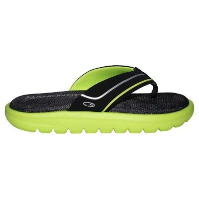 d87648a6596 Boys  Felipe Flip Flop Thong Sandals S - C9 Champion - Black Green ...