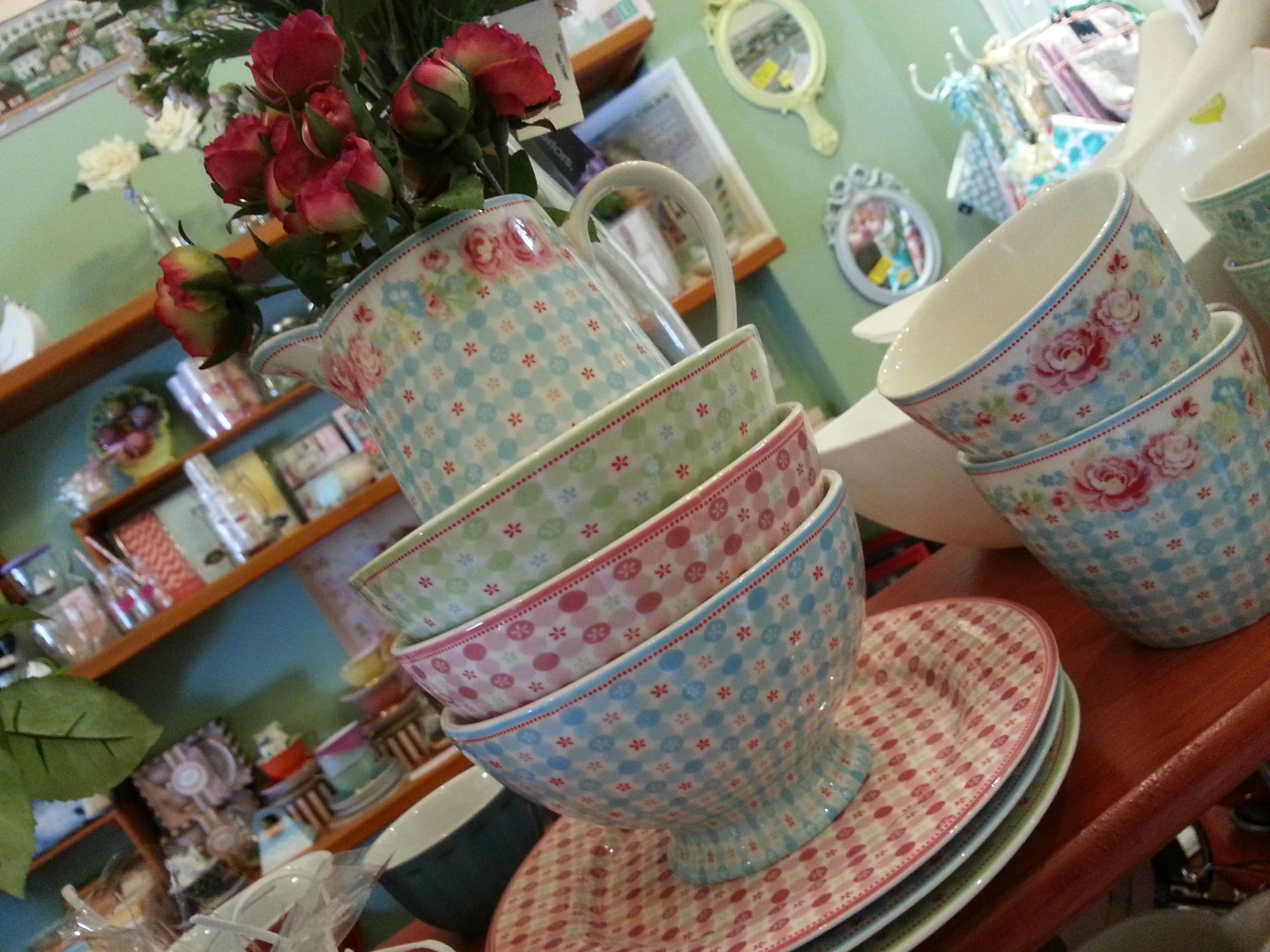 GreenGate display at Country Touches