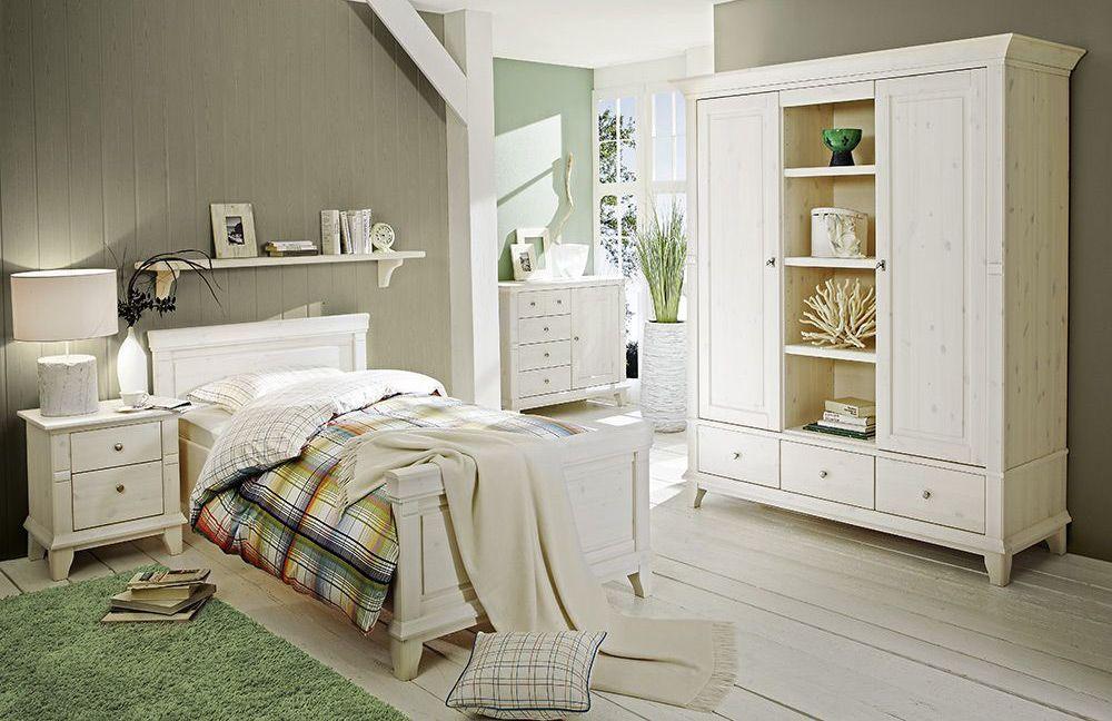 Perfekt Skandinavischer Landhausstil Im Schlafzimmer Georgia