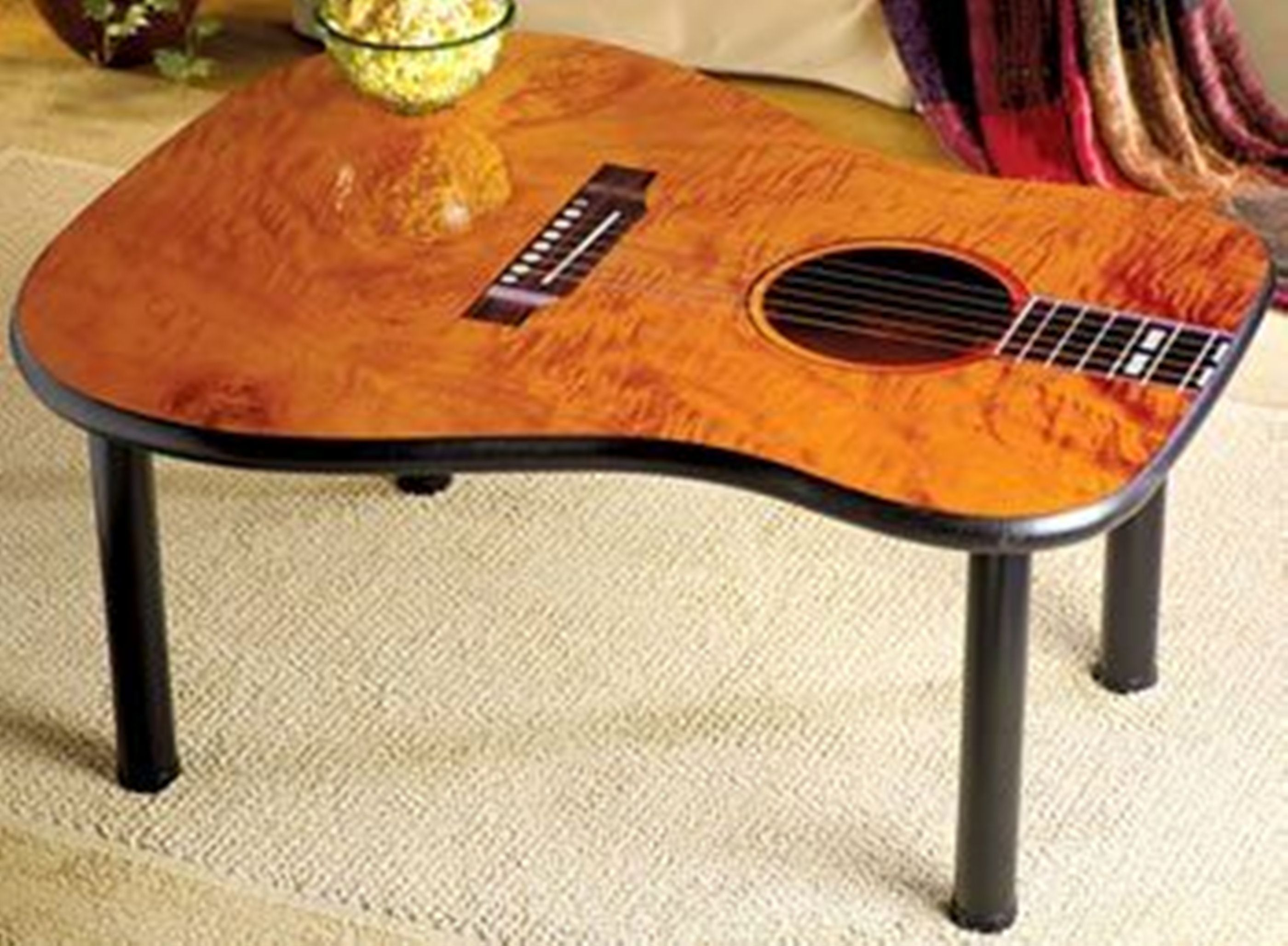 Mesa de centro guitarras pinterest guitars music decor and guitar table find a cheap guitar goodwill make this and the neck lamp geotapseo Images