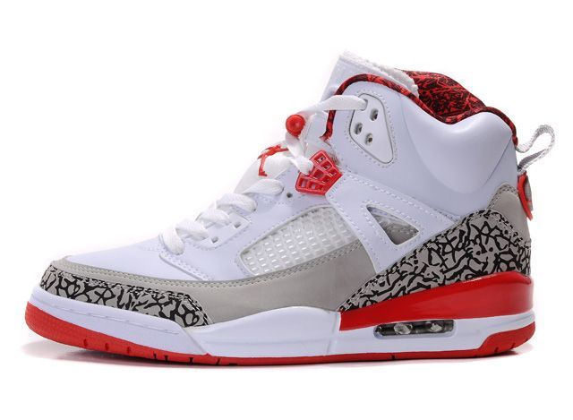 quality design 68f0b ba66f Air-Jordan-Spizike-White-Grey-Red