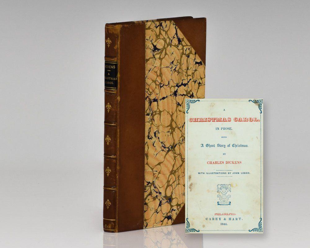 a christmas carol philadelphia carey hart 1843 first american edition of - A Christmas Carol First Edition