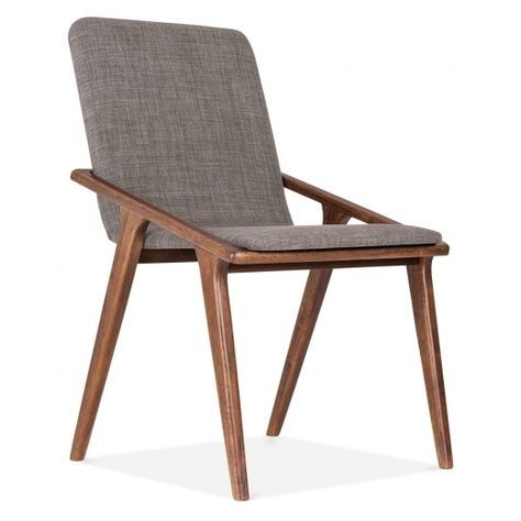 Flight Upholstered Dining Chair - Cool Grey #setinstains