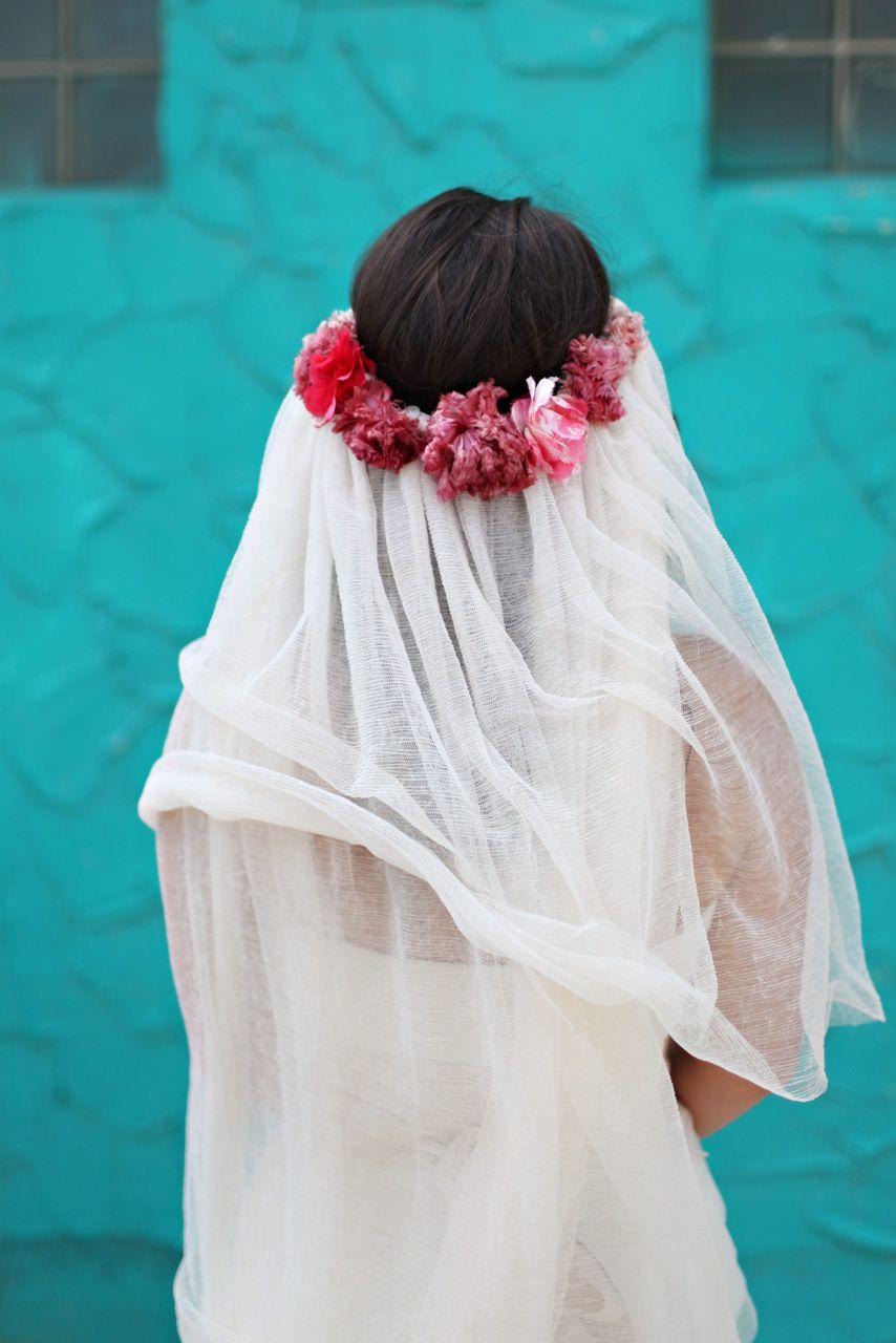 Gauze veil wedding pinterest stone fox wedding and flowers
