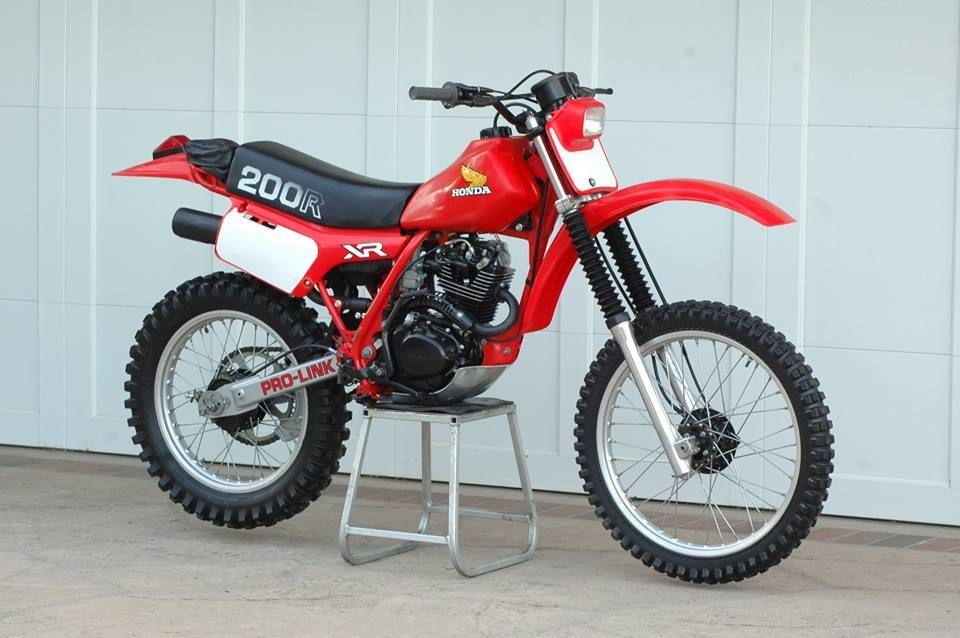 1982 Honda Xr200r Enduro Motorcycle Honda Dirt Bike Honda Bikes