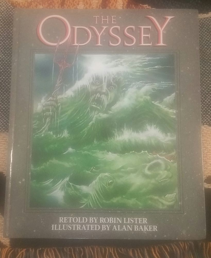 The Odyssey Retold by Lister Robin, Illustrated by Alan Baker. In The Odyssey -- retold by Robin Lister with illustrations by Alan Baker -the Trojan War is over, and battle-weary hero Odysseus sets sail for home. | eBay!