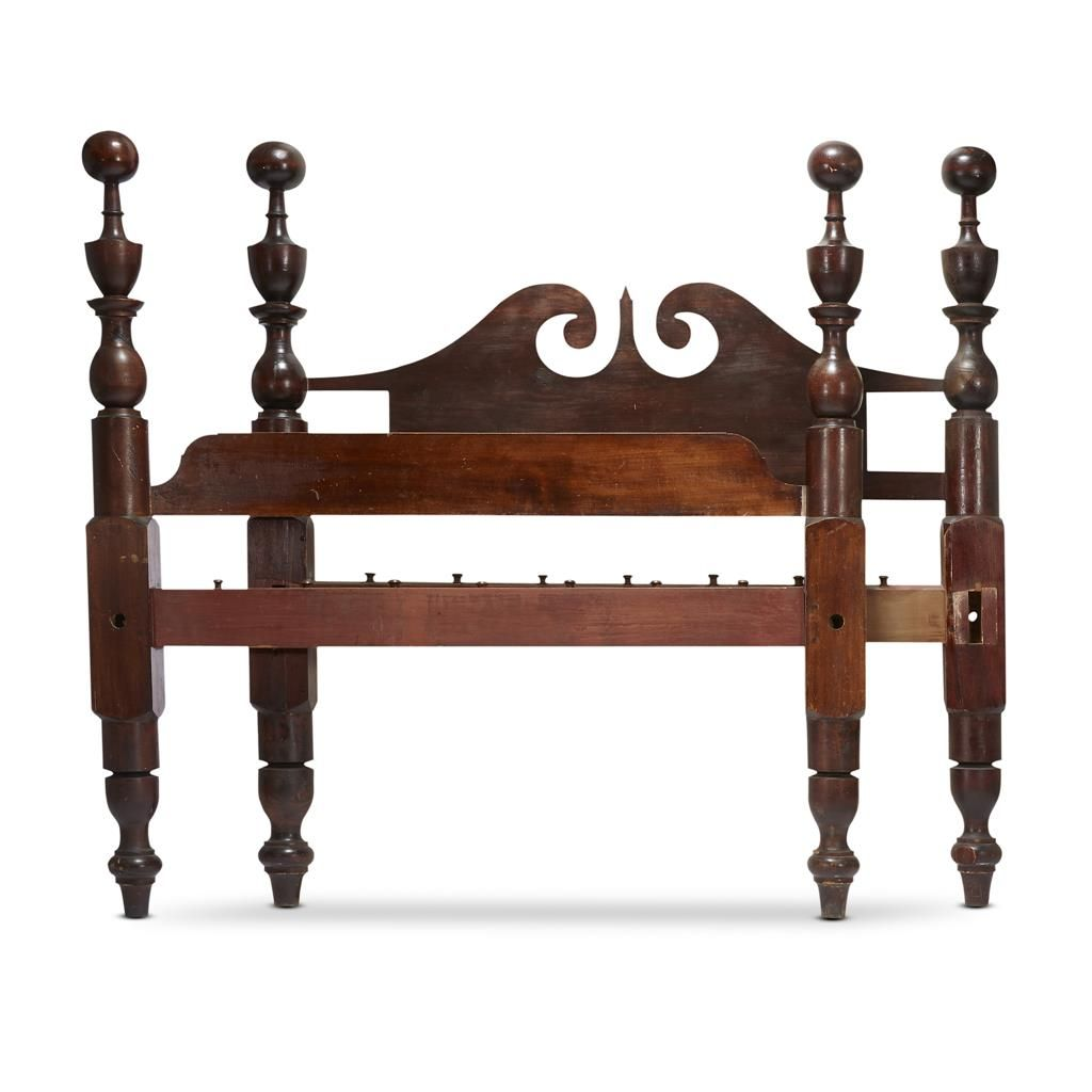 Remarkable Classical Bedstead Probably Virginia Circa 1840 Theyellowbook Wood Chair Design Ideas Theyellowbookinfo