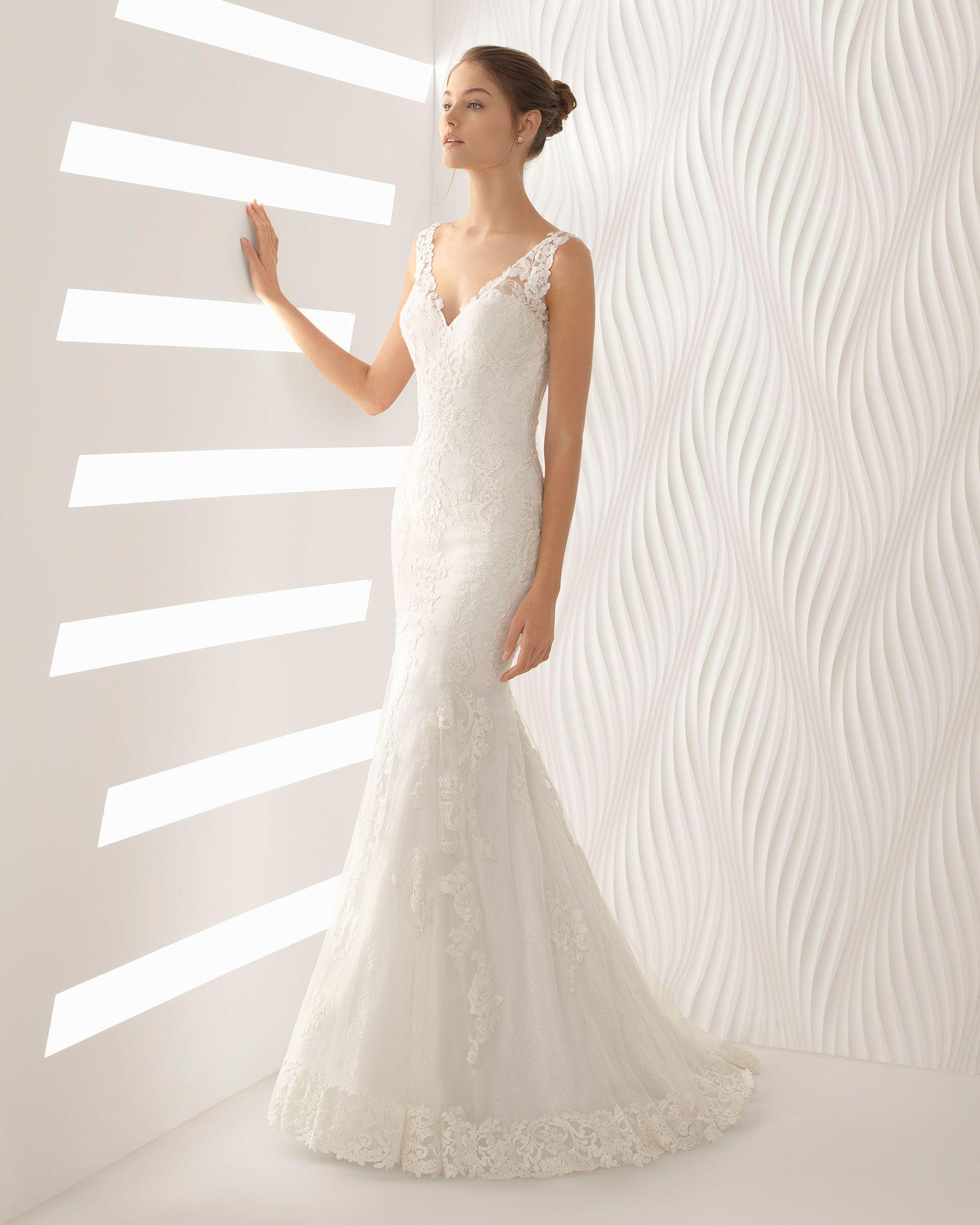 Imрісћgenes de vestidos de novia corte sirena