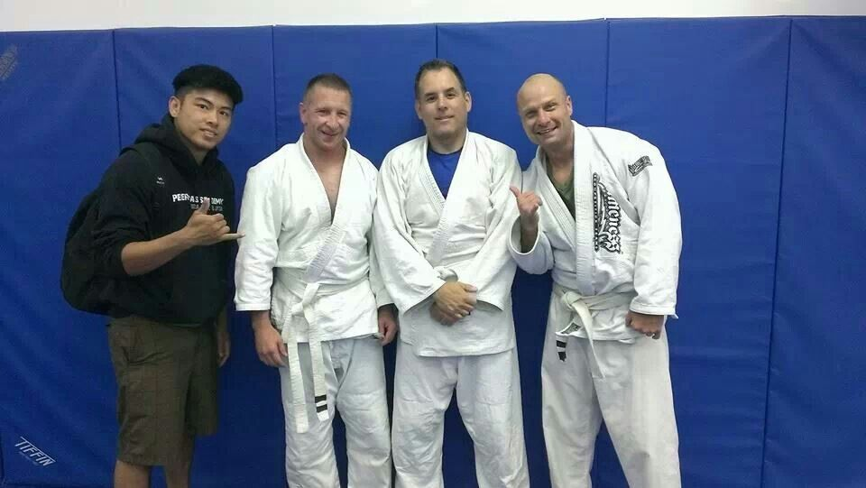 Congrats to the guys this morning on their stripe promotions!