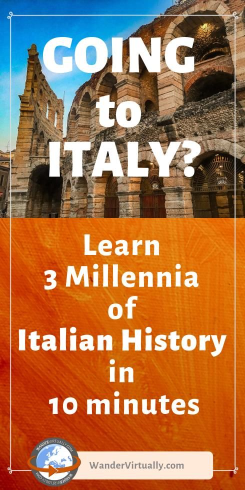 Going to Italy? Invest just 10 minutes to make your travel experience more meaningful!   #Italy #Italia #TravelItaly #ItalyTravel #ItalyTravelTips #AncientRome #italianRenaissance #historicalperiod #historical #period