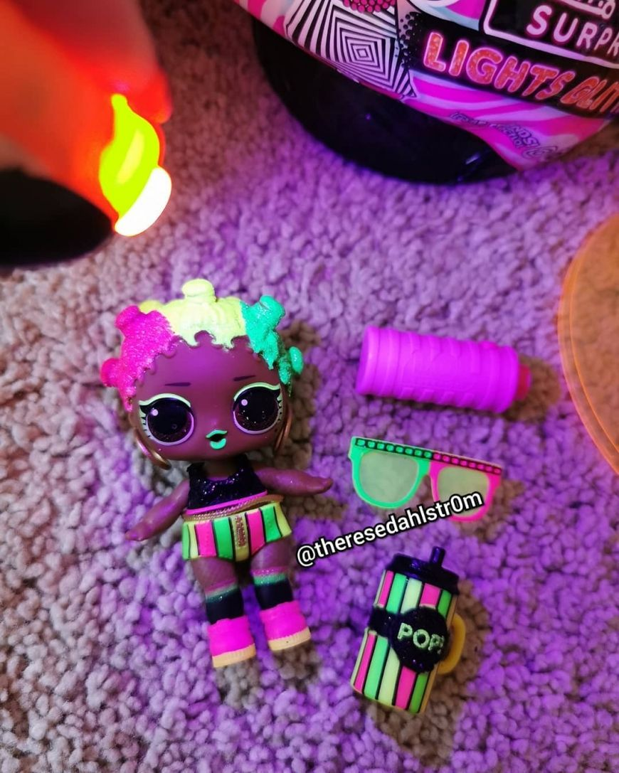 First live images of new LOL Surprise Lights Glitter dolls