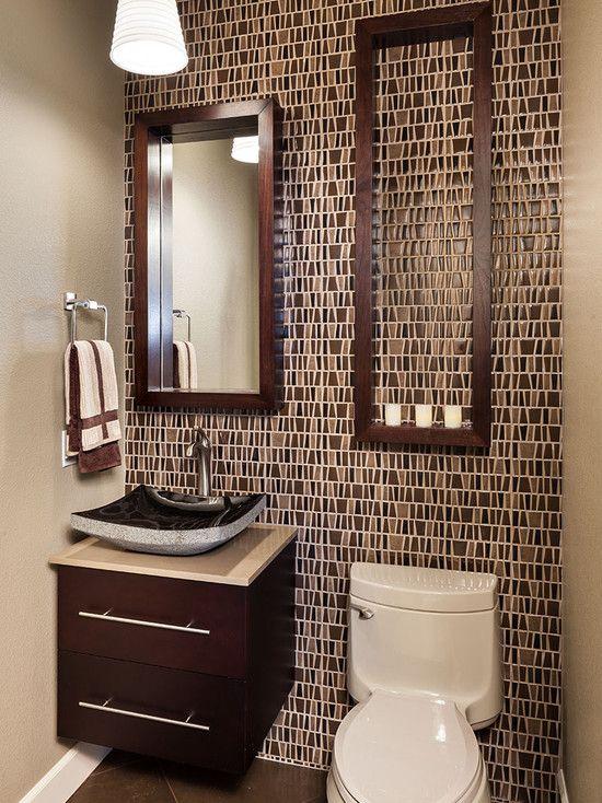 9 ways to make a half bath feel whole decor ideasdecorating - Half Bathroom Design Ideas