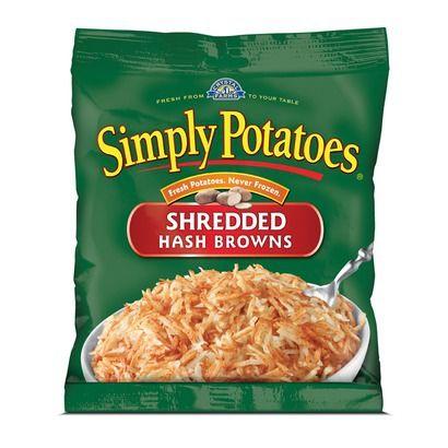 Simply Potatoes Shredded Hash Browns 20oz Simply Potatoes Shredded Hashbrown Recipes Accidentally Vegan Foods