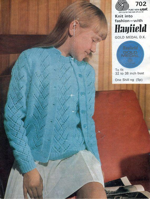 1960s Twin Set Vintage Knitting Pattern / Teenage Girls - Small ...