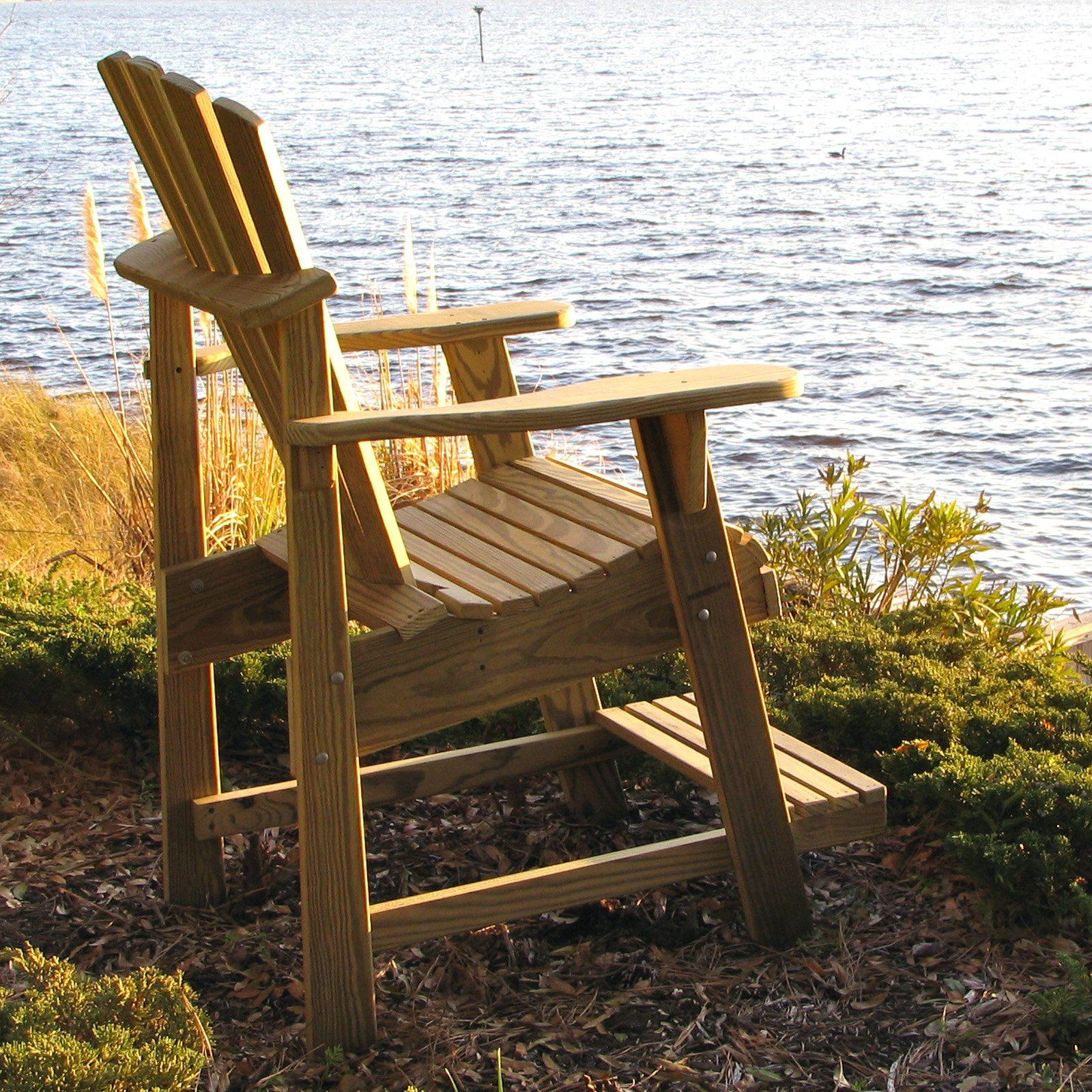 Have to have it. Weathercraft Designers Choice Treated Balcony Adirondack Chair - Natural $179.98