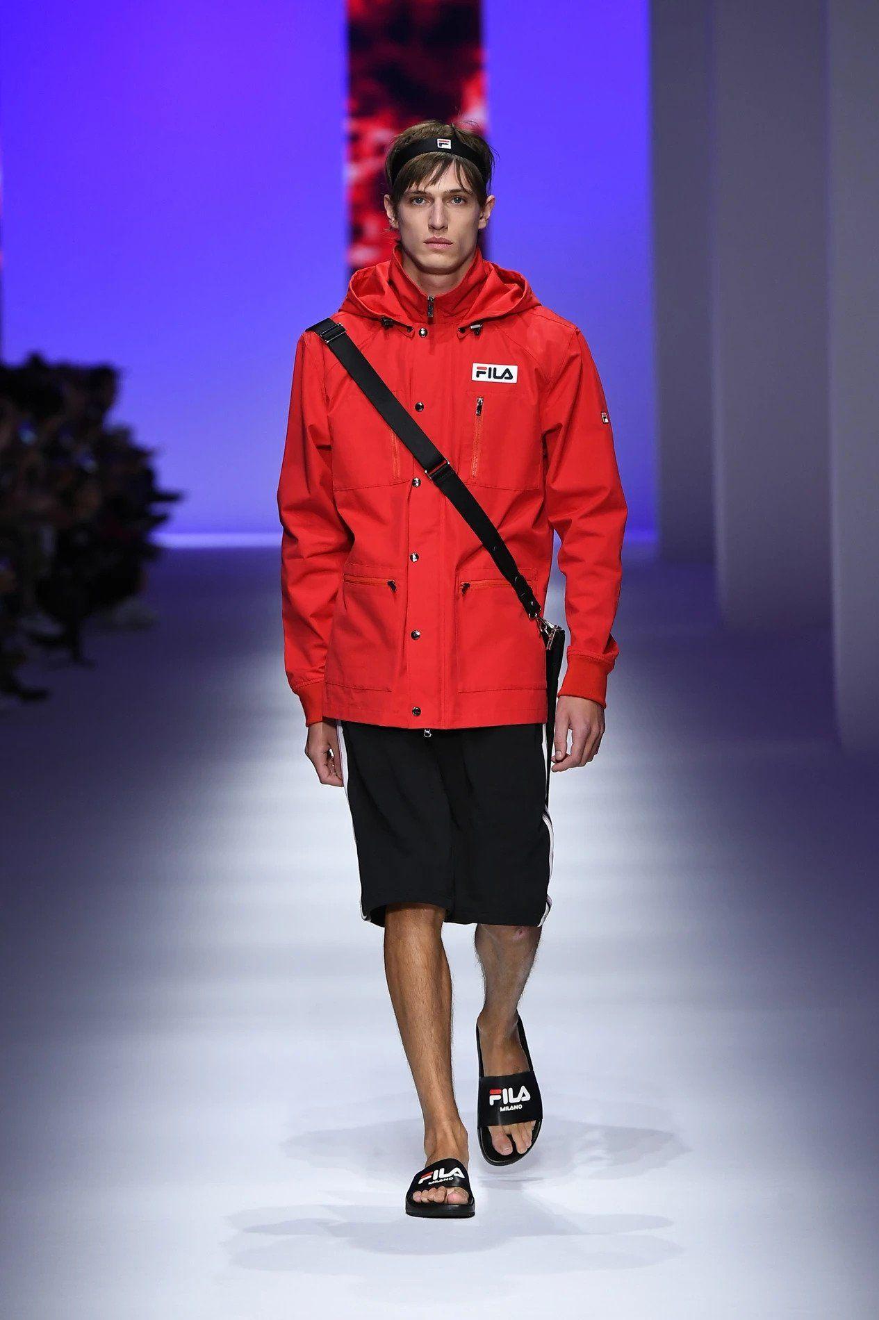 7343df0ba74 Fila ... #Milan #MFW #fashionweek #fashion #SS19 #RTW #Fila | Yes ...