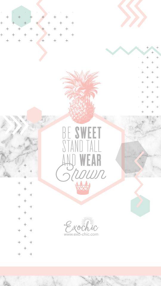 Fond Ecran Free Printable Octobre Be Sweet Stand Tall And Wear Crown Fond D Ecran Telephone Fond Ecran Fond Iphone