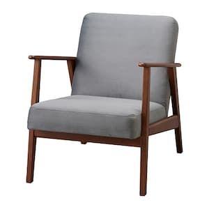 housse velours gris fonce fauteuil
