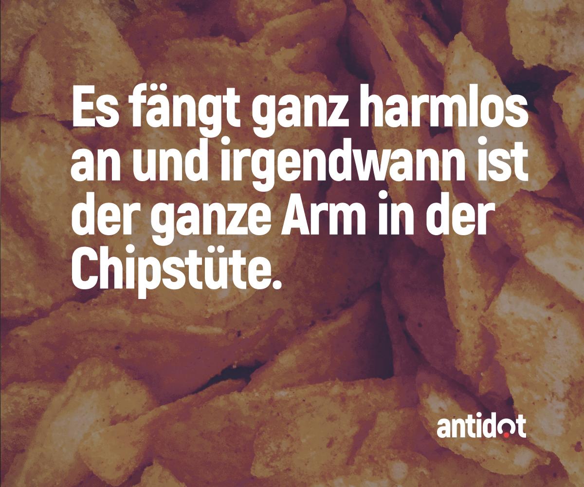 Wer Kriegt Es Hin Nur Einen Chip Zu Essen Und Dann Aufzuhören? #antidot #