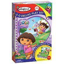 Colorforms 3-D Deluxe Play Set Dora the Explorer