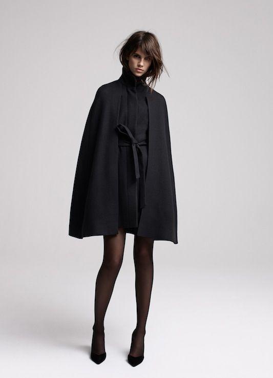 maje collection automne hiver 2013 2014 manteau cape maje et manteau. Black Bedroom Furniture Sets. Home Design Ideas