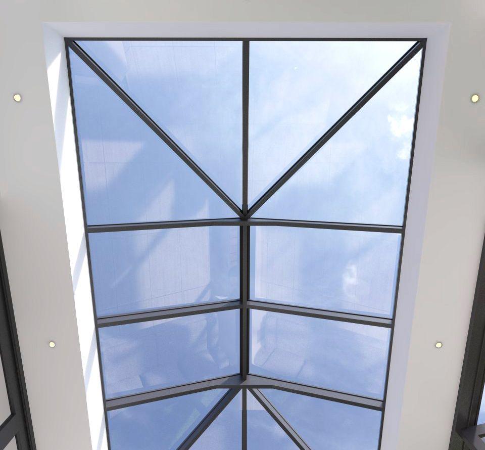 Slim Profile Ultra Slim Roof Lantern For Further