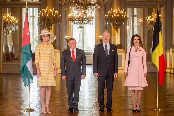 17 May 2016 - Welcome ceremony in Bruxelles with King and Queen of Belgium