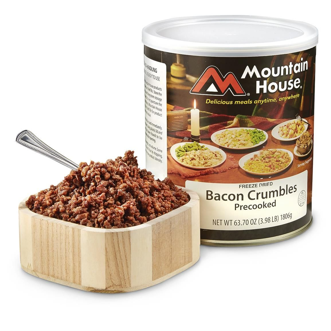 Mountain House Freezedried Bacon Crumbles (With images