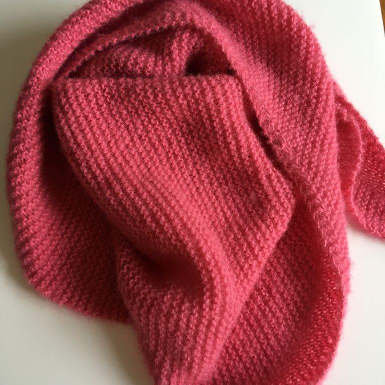 Tuto tricot : un cosy trendy ou un châle qui monte vite ...