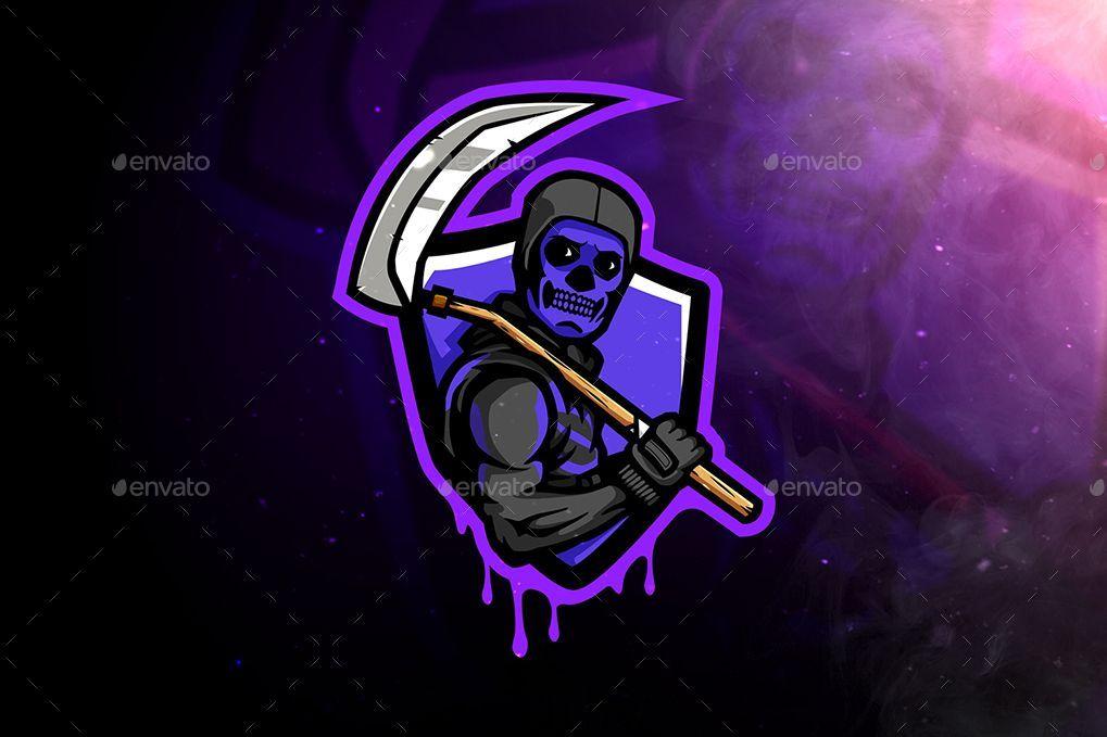 Skull Trooper Shield Logo Photo Logo Design Skull Logo