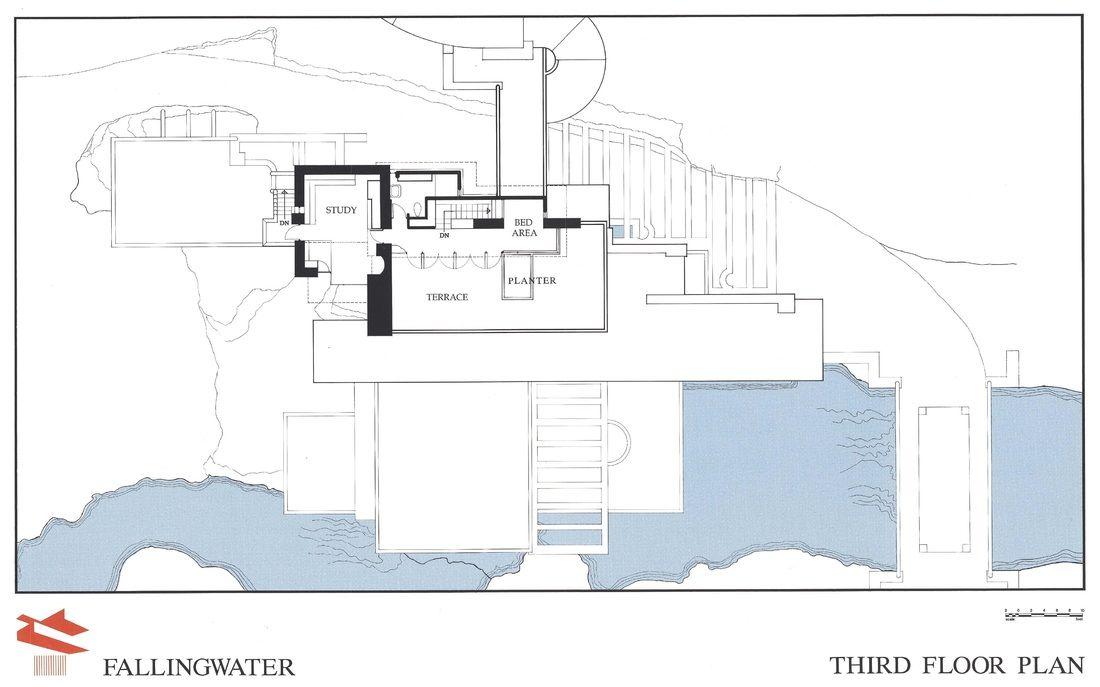 falling water plans pdf - google search | architecture | pinterest