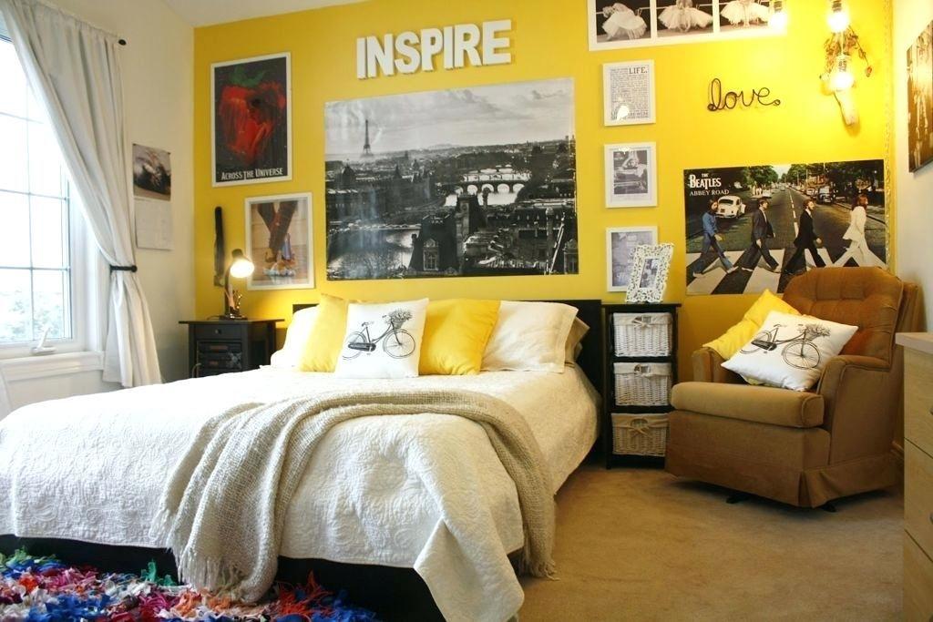 Gelbe Schlafzimmer Ideen Dekoration Ideen Gelbes