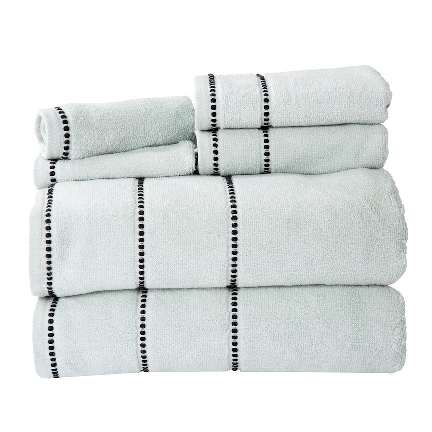 Decorative Bath Towel Sets Portsmouth Home Quick Dry 6Piece Bath Towel Set  Bath Towel Sets