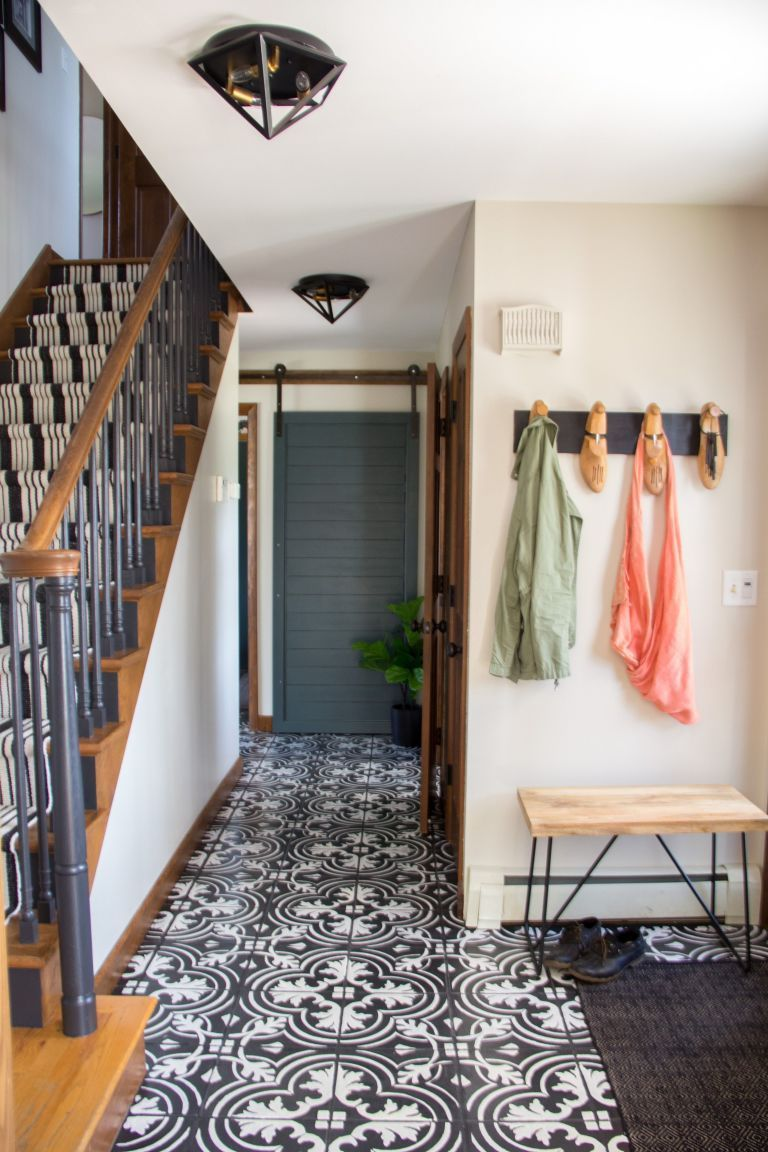 Youll never guess how this blogger faked these gorgeous tile youll never guess how this blogger faked these gorgeous tile floors doublecrazyfo Image collections