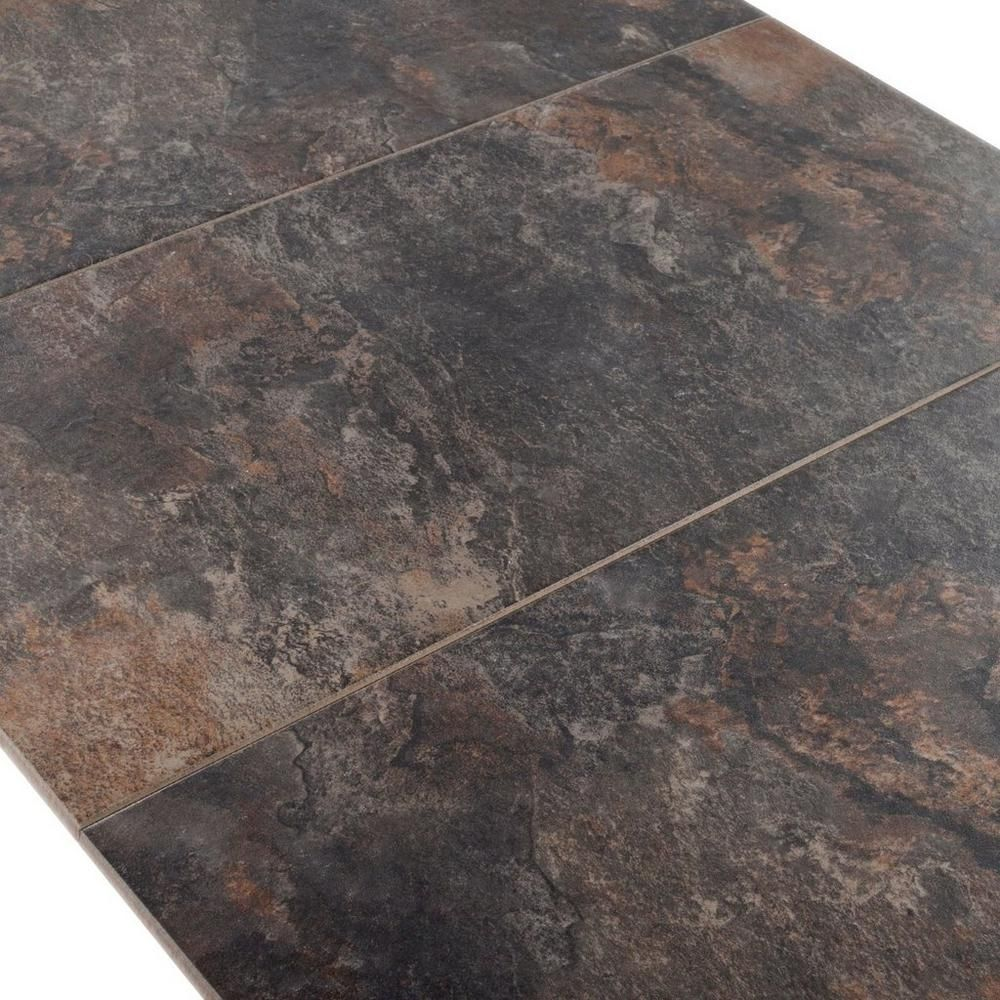 Delightful Himalaya Charcoal Porcelain Tile   12in. X 24in.   912102744 | Floor And  Decor
