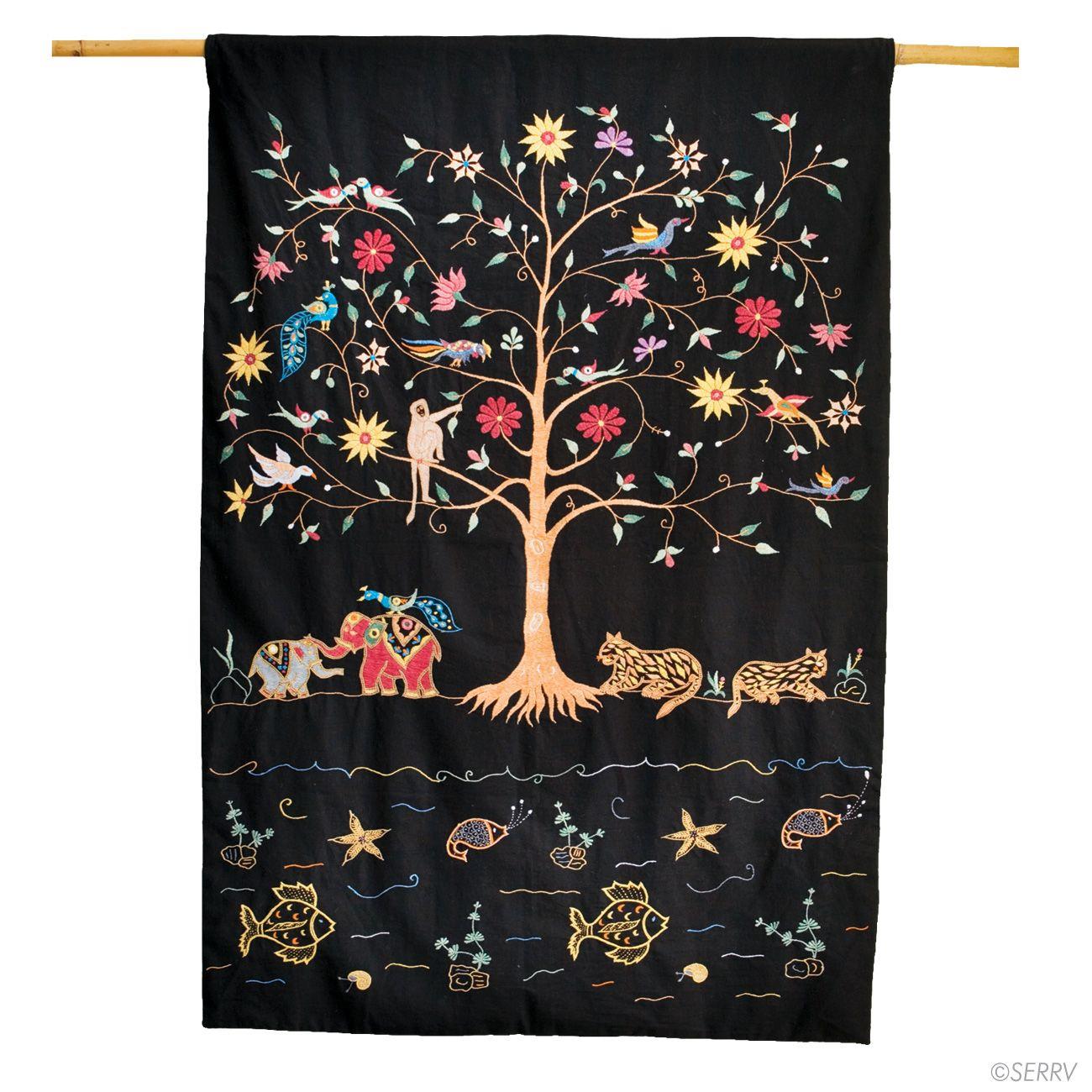 Prakriti Tree Of Life Wall Hanging Serrv Tree Of Life
