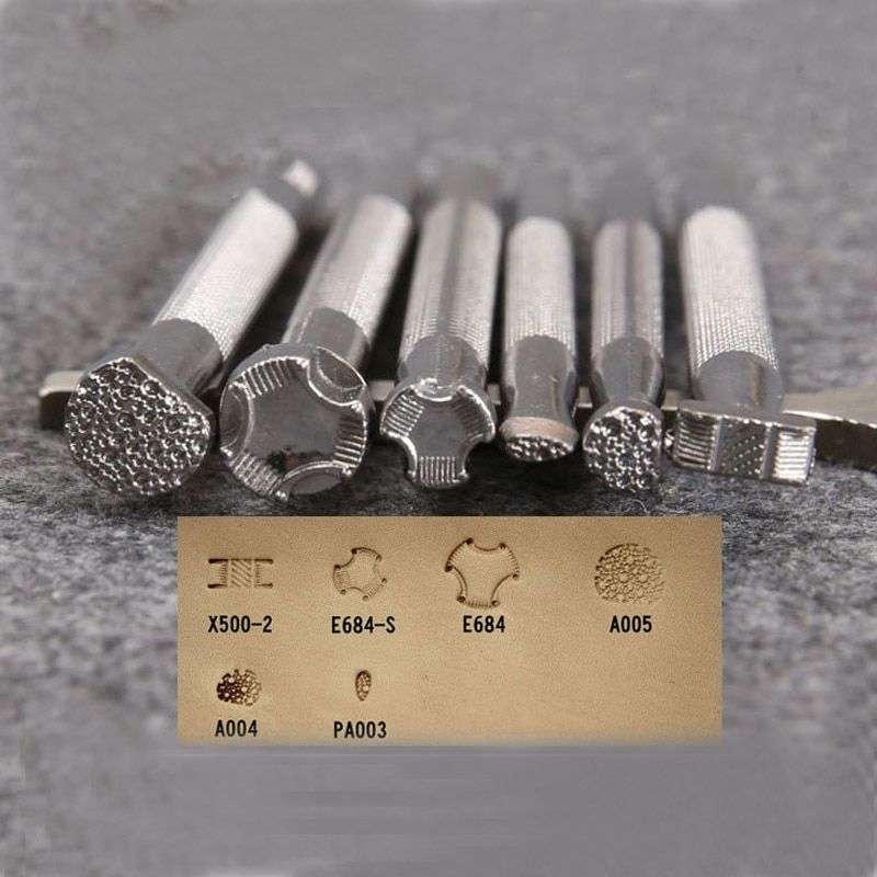 1pcs Leather Printing Tool Alloy Carving Punch Stamps Craft New