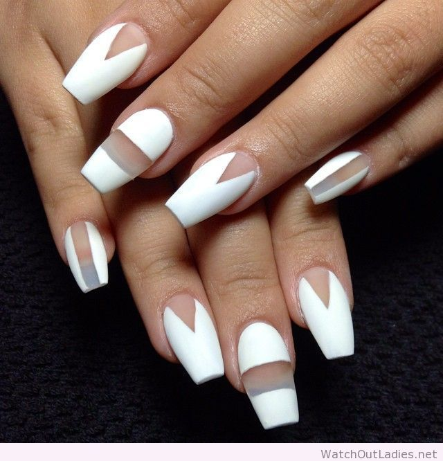 Coffin-nails-with-negative-space.jpg | Makeup & Beauty! | Pinterest ...