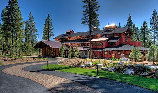 The Family Barn at Martis Camp, Lake Tahoe