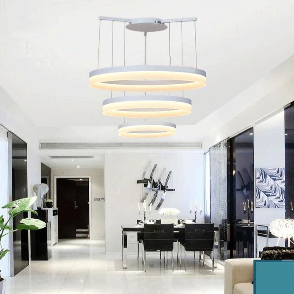 Contemporary Modern Simple For Office Restaurant Chandelier Living Room Round Led Chandelier Creat Chandelier In Living Room Chandelier Creative Led Chandelier Living room chandelier simple