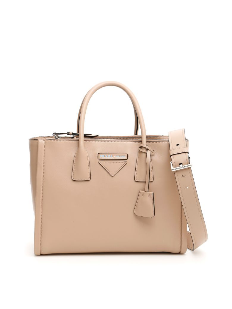 6db96d971ba02a Best price on the market at italist   Prada Prada Concept Handbag ...