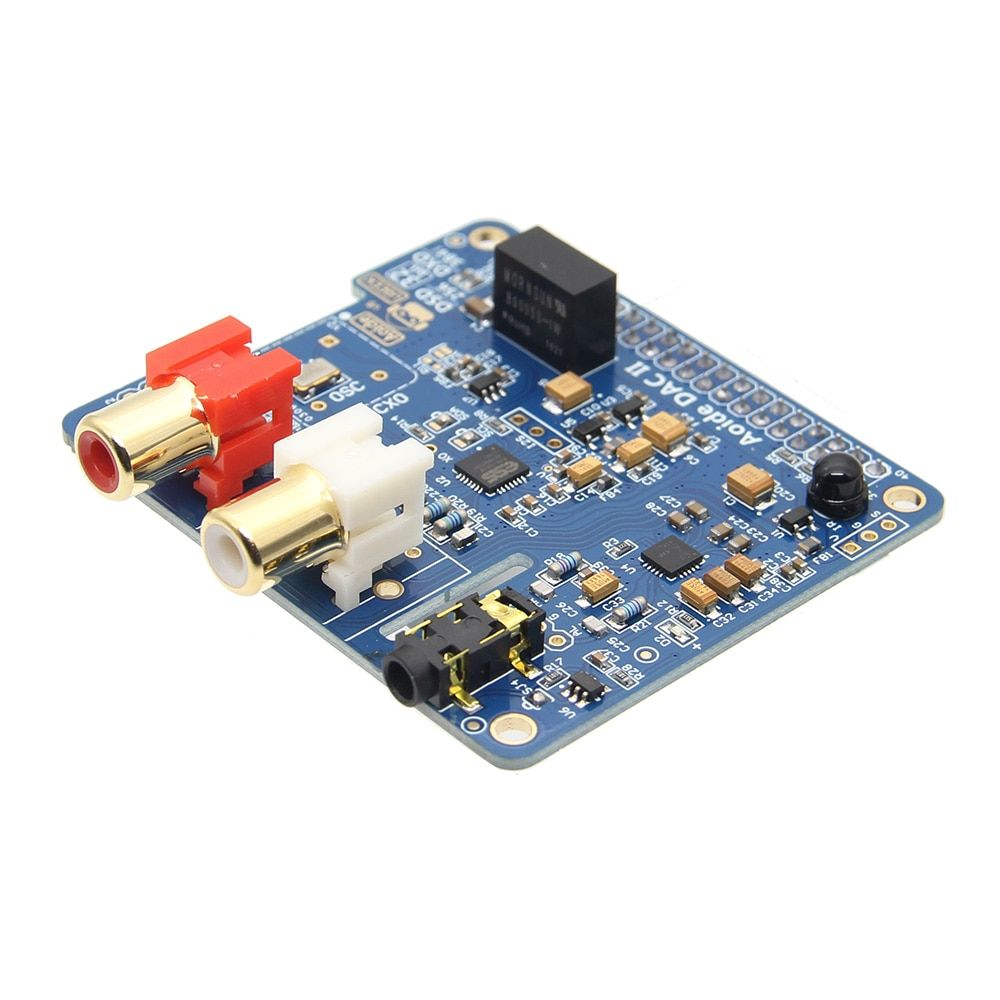 Raspberry Pi DAC II ES9018K2M DSD Audio DAC Expansion Board