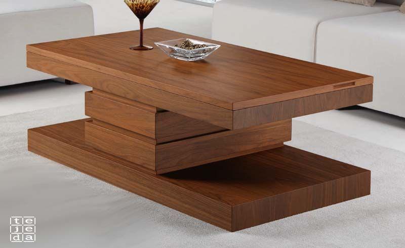 Mesa modelo columna central mesas de centro y rincon en for Modelos de mesas de centro de sala