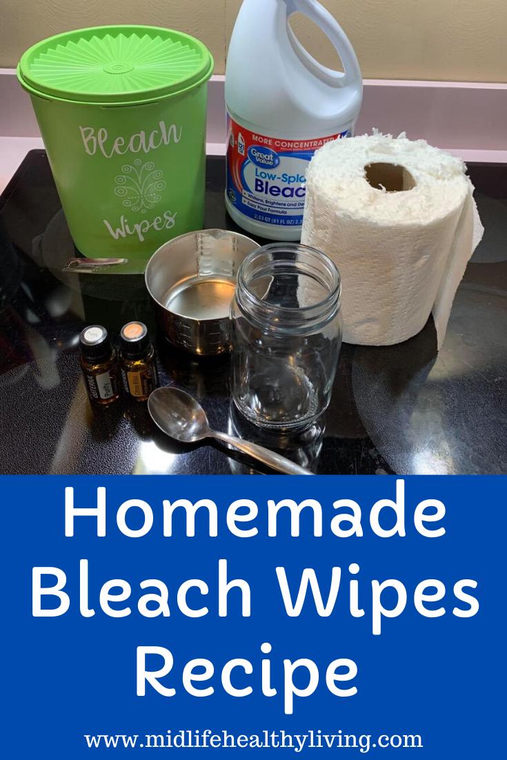 DIY Bleach Wipes to Make at Home in 2020 Homemade bleach
