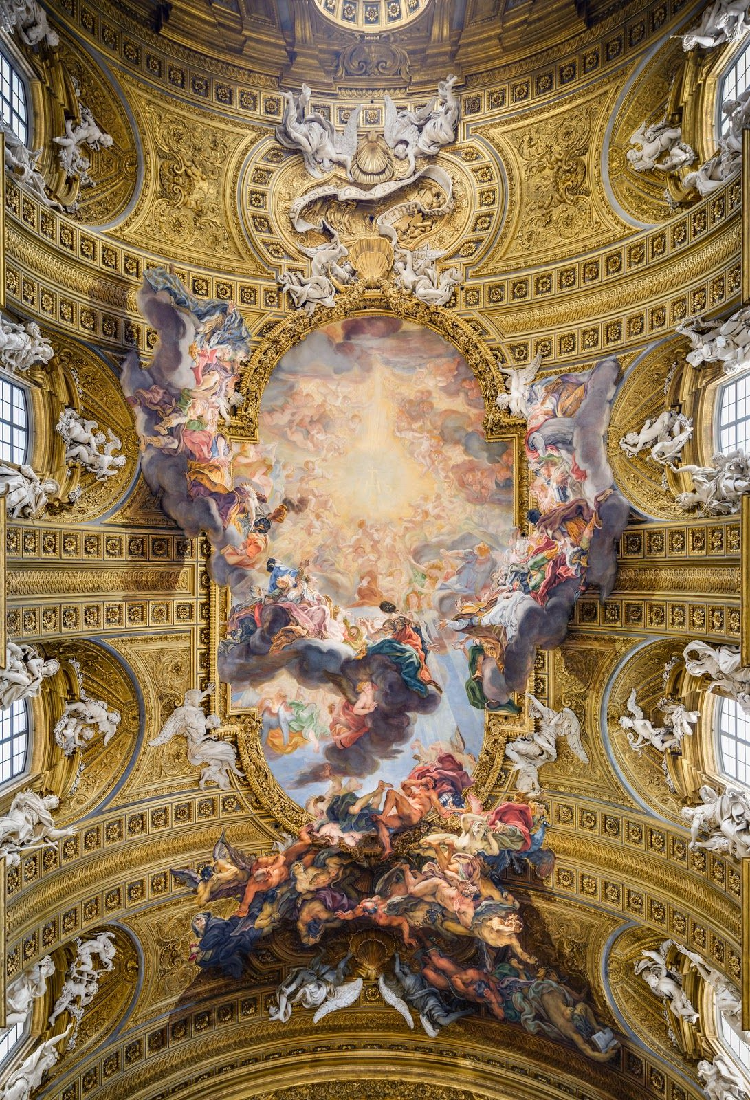 The history of baroque art in rome