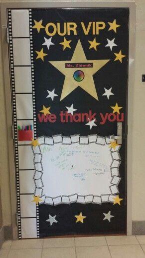 Teacher appreciation door decoration for the art teacher ...