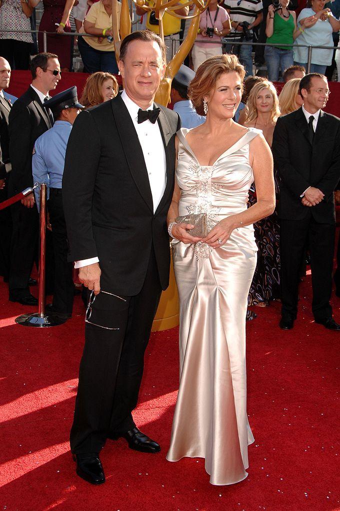 Tom Hanks & Rita Wilson (Tom Hanks' wife): | Fav./Admired ...