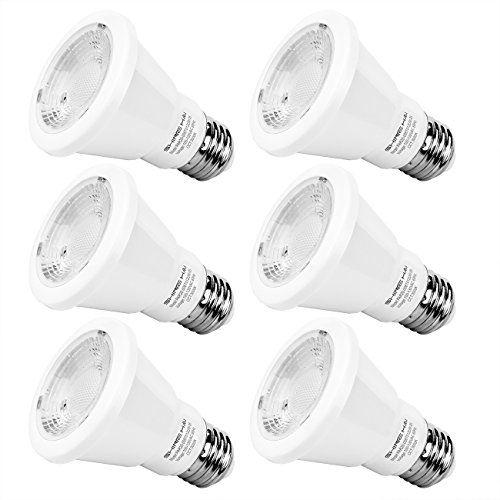 Par20 Led Bulb 50w Equivalent Shine Hai Led Spot Light Bulb 3000k Soft White E26 40 Degree Beam Angle Ul Listed 6 Led Bulb Led Flood Lights Led Spotlight