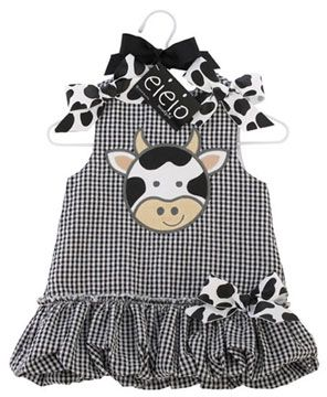 e97a1f2430de Mud Pie EIEIO Bubble Dress... Adorable!
